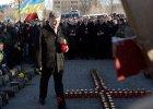 """Pierwsza rocznica protestów na Majdanie. """"Marsz Godności"""" w Kijowie"""