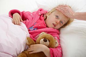 Gor�czka u dziecka - jak reagowa�?