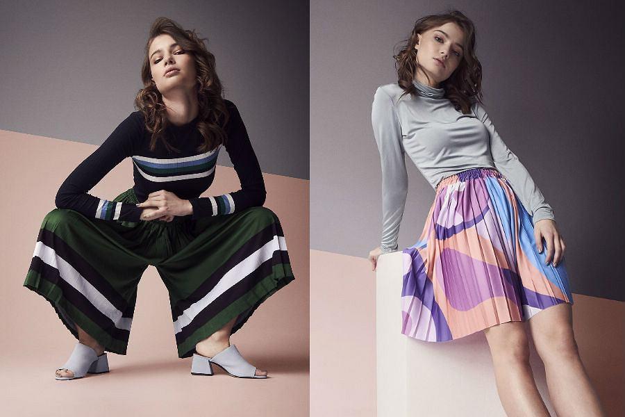Spódnice plispliz to krótkie serie i autorskie nadruki