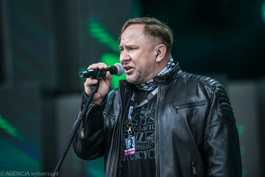 Tomasz Siwiak z zespołu Omen