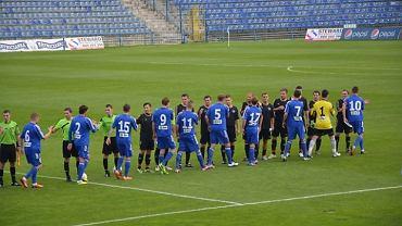 mecz niebieskich rezerw z Reprezentacją Śląskich Oldbojów