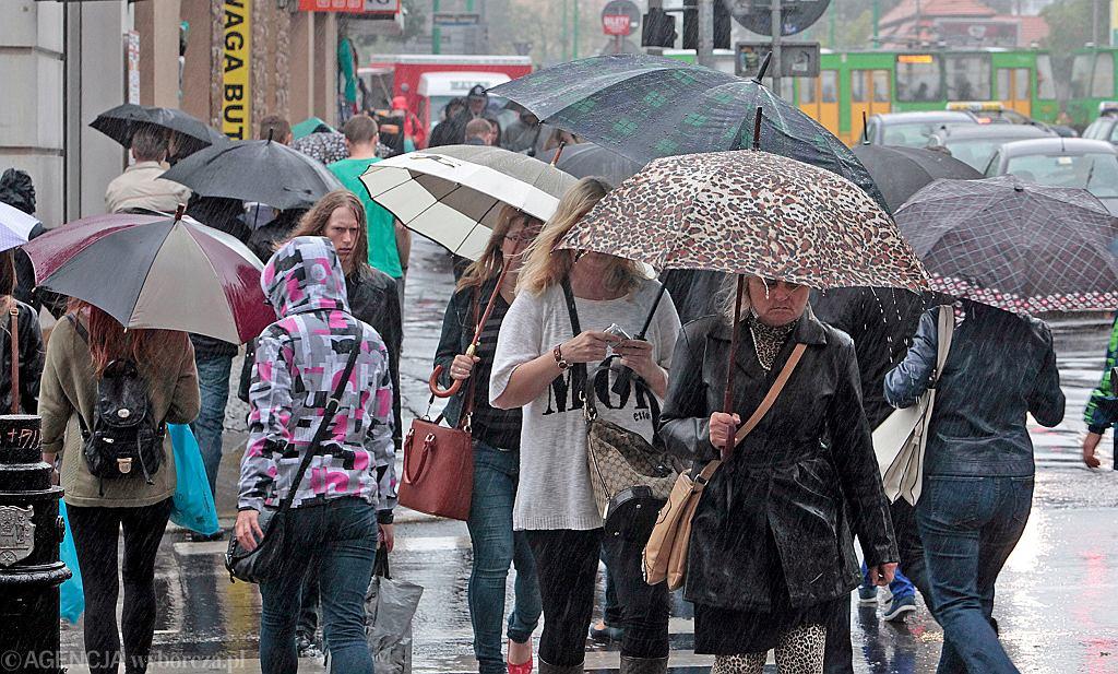 Pogoda. Deszcz i burze