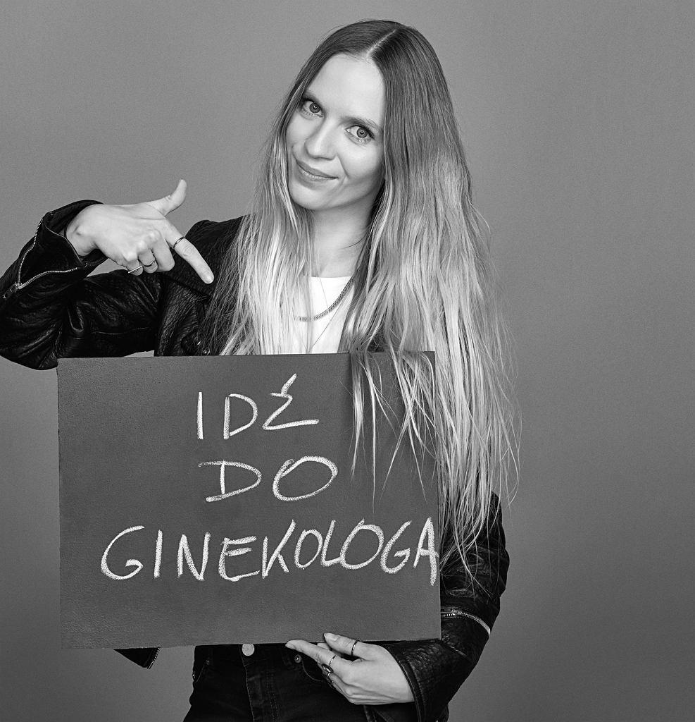 Mary Komasa w kampanii Anji Rubik #SEXEDPL / Fot. Iza Grzybowska
