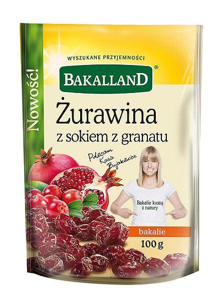 Żurawina z granatem Bakalland