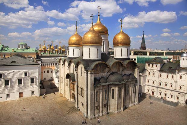 Moskwa Kreml. Sobór Uspieński