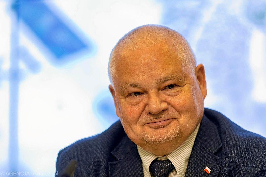 Adam Glapiński, prezes Narodowego Banku Polskiego.