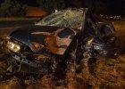 29-latek zgin�� w zderzeniu trzech aut pod Toruniem [ZDJ�CIA]