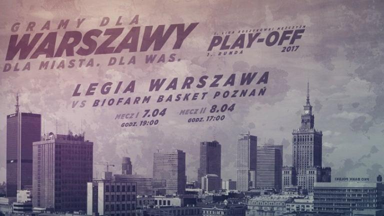 Koszykarska Legia gra o awans do ekstraklasy