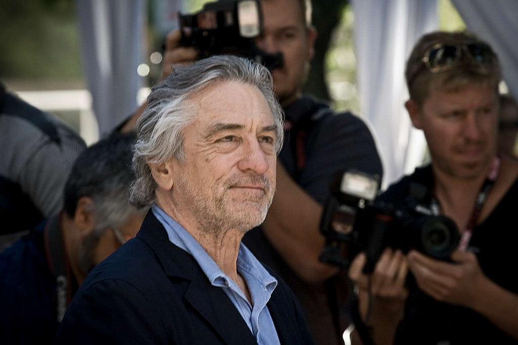 Robert De Niro na festiwalu w Toronto, 2011
