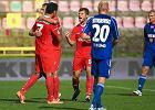 Widzew Łódź - Ruch Chorzów 2:0. Mehdi Ben Dhifallah cieszy się z pierwszej bramki