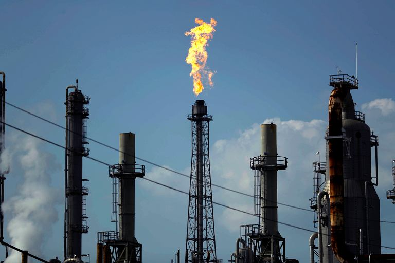 Rafineria ropy w Teksasie