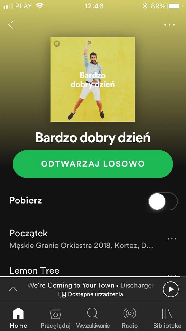 Spotify playlista