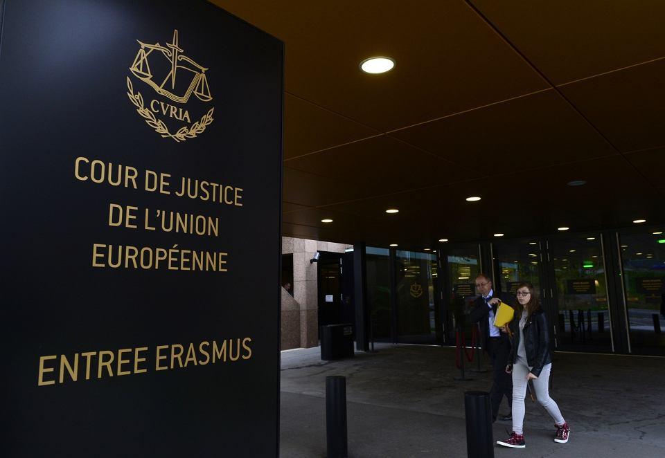 Siedziba Trybunału Sprawiedliwości Unii Europejskiej w Luksemburgu
