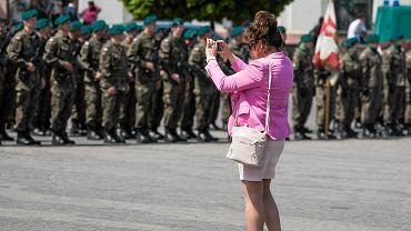 Lublin, uroczyste zaprzysiężenie wojsk obrony terytorialnej
