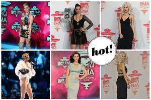 Największe gwiazdy gali MTV w Amsterdamie: Miley Cyrus, Katy Perry i Rita Ora. Która wyglądała najlepiej?