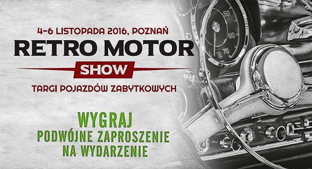 Retro Motor Show w Poznaniu, 4-6 listopada / mat.pras.