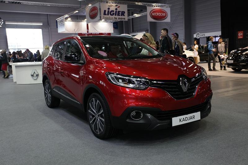 Motor Show Poznań 2015 Renault Kadjar Modny Crossover