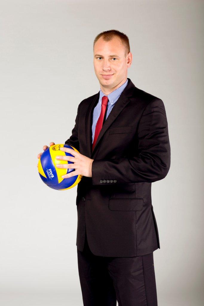 Prezes Lotosu Trefla Gdańsk Piotr Należyty