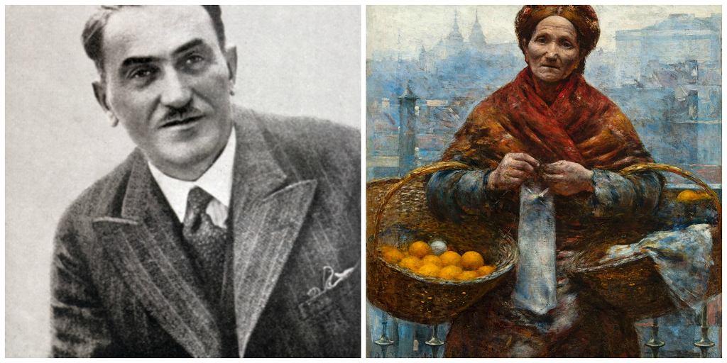 Po lewej Tadeusz Boy-Żeleński. Po prawej