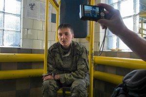 """Rosja: Wi�ziona ukrai�ska pilotka oficjalnie parlamentarzystk�. """"Sami wiecie, �e jest niewinna"""""""