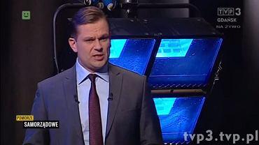 W poniedziałek wieczorem red. Łukasz Sitek poprowadził program na żywo w TVP Gdańsk.