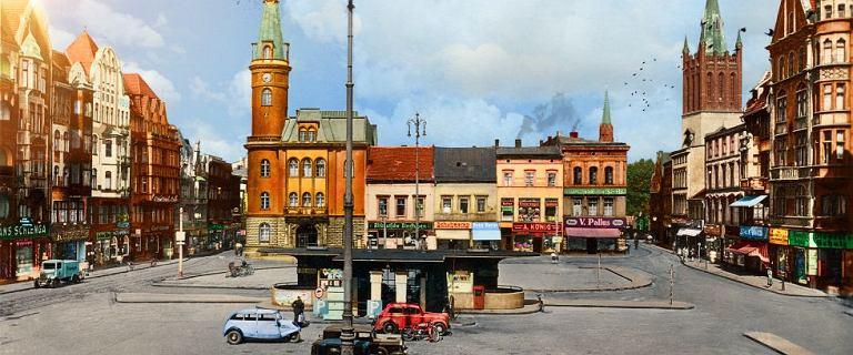 Stare miasto w nowych kolorach. Tak mogły wyglądać ulice sto lat temu [ZDJĘCIA]