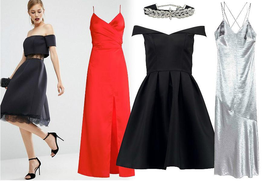 b40af9a5d0 Niedrogie sukienki studniówkowe  od najtańszej do najdroższej