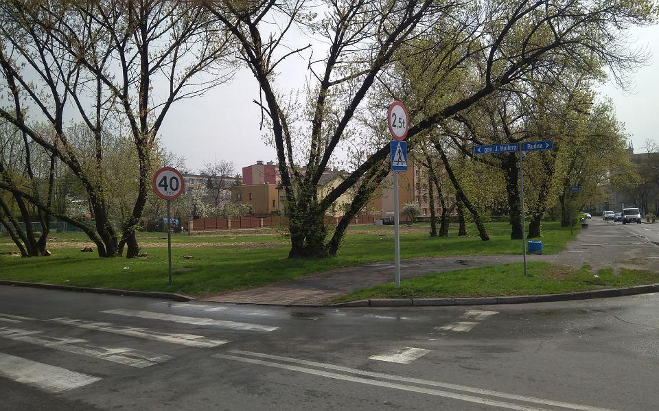 Działka, na której prywatny inwestor chciałby wybudować pawilon handlowy dla sieci Biedronka
