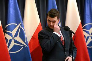 RMF nieoficjalnie: Bartłomiej Misiewicz zwolniony z MON. Jest jego odpowiedź