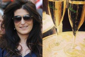 Luksus w cieniu afery: francuska restauracja, szampan. Ma�gorzata Herde pokaza�a zdj�cia
