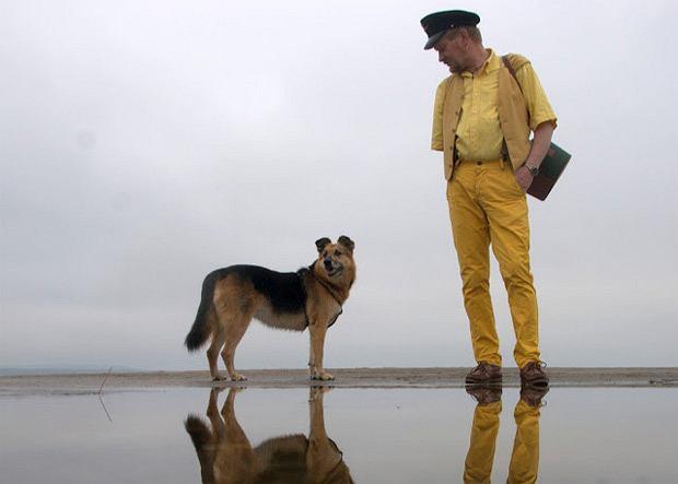 Vslv's World: żółty spacer