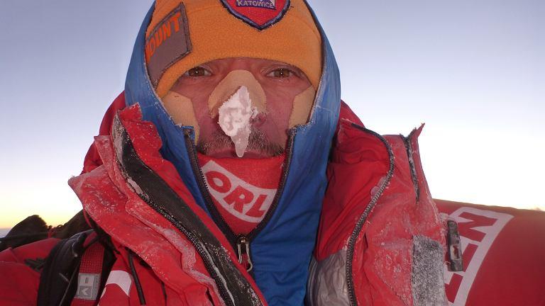 Artur Małek na szczycie