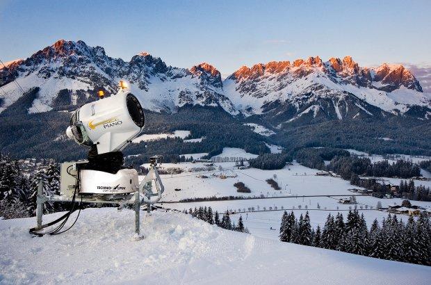 Zdjęcie numer 1 w galerii - Jak powstaje sztuczny śnieg