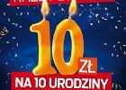 10-lecie Heliosa w Kielcach: urodzinowa zni�ka i konkurs na najstarszy bilet do kina