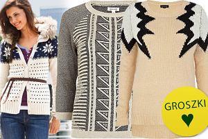 12cd6f72a3d639 Swetry we wzory - ponad 90 propozycji