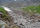 Kamienne lawiny zesz�y z g�r w rejonie Morskiego Oka