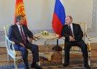 Putin pojawi� si� publicznie po 10 dniach. Spotka� si� w Petersburgu z prezydentem Kirgistanu