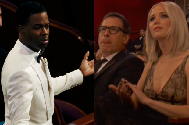 Chris Rock, Jennifer Lawrence