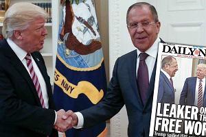 """Amerykańskie media: Trump ujawnił Rosjanom tajne informacje wywiadowcze. """"Przechwalał się"""""""