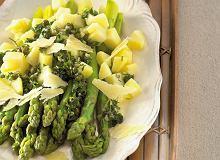 Salsa verde ze szparagami - ugotuj