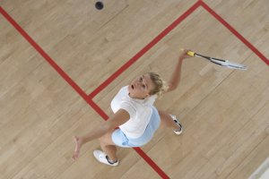 Squash – sport, kt�ry wci�ga!