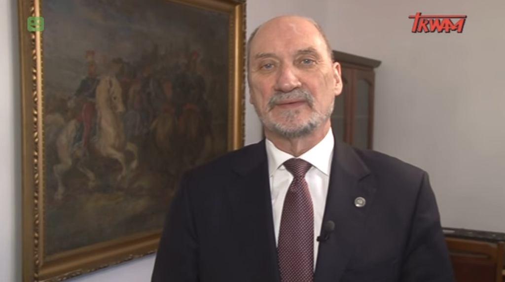 Felieton Antoniego Macierewicza w TV Trwam
