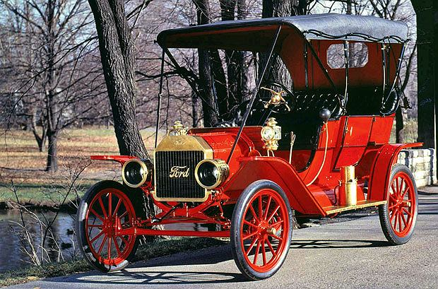 Najsłynniejsze amerykańskie samochody: Ford T