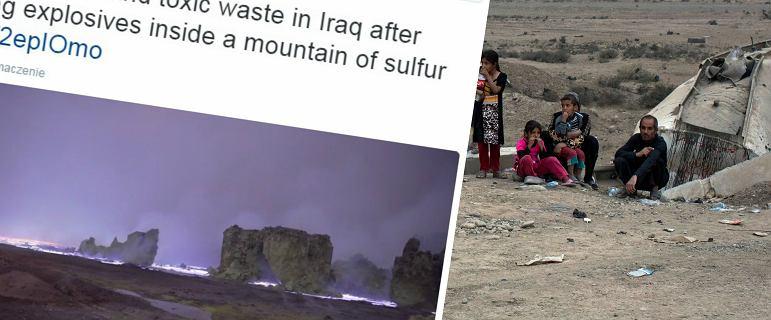 To nie jest kadr z science-fiction. Tak Pa�stwo Islamskie chce powstrzyma� inwazj� na Mosul