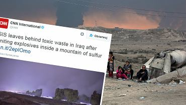 To nie kadr z science-fiction. Tak Pa�stwo Islamskie walczy z inwazj� na Mosul