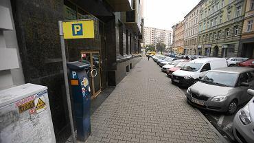 Parkomat na ul. Bohaterów Getta Warszawskiego