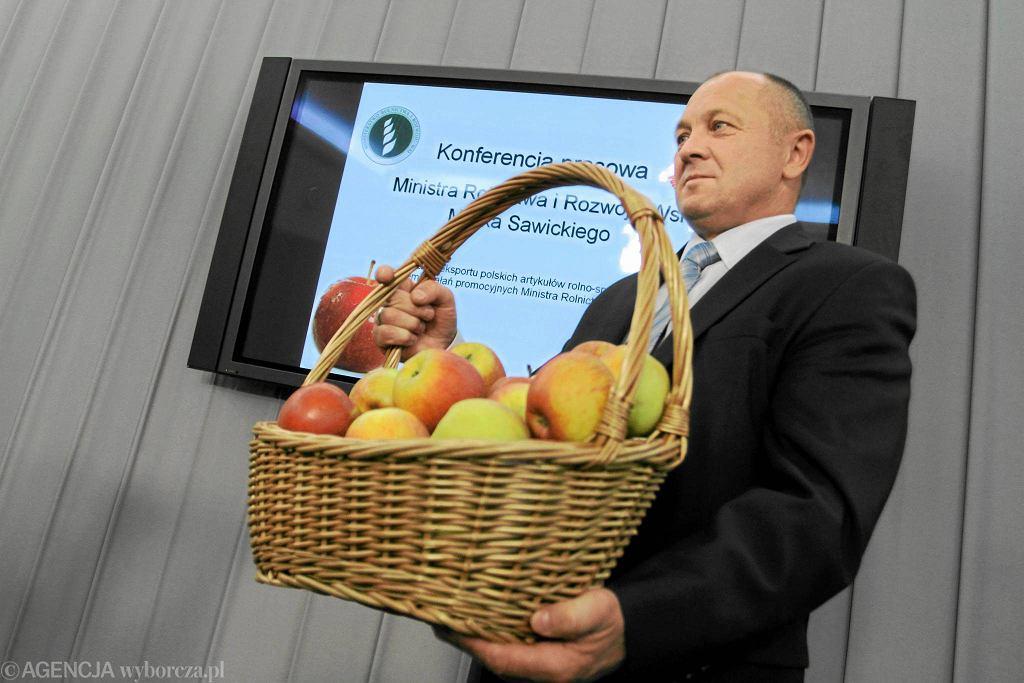 Minister rolnictwa Marek Sawicki