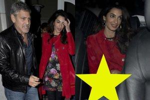 George i Amal Clooneyowie