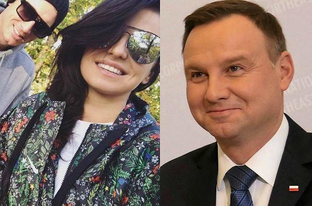 Anna Lewandowska, Robert Lewandowski, Andrzej Duda