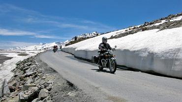 Royal Enfield - produkowany w Indiach motocykl, na którym odbyłem całą podróż